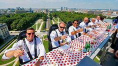 Eat In Style: At Dinner In The Sky In Brussels Belgium | Travelingmind2anywhere