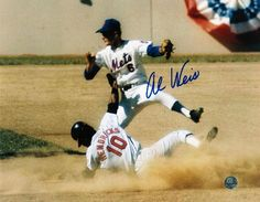 Al Weis New York Mets Autographed 8x10 Photo