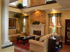 decoracion de sala colores otoñal y animal   ... consejos para decorar salas como decorar la sala decoracion de salas