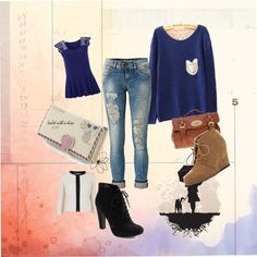 """Untitled #25"" by andrea-98-1 ❤ liked on Polyvore"