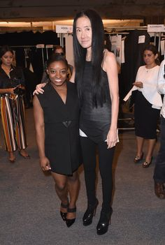 Simone Biles Has a Sweet Mother-Daughter Date at NYFW