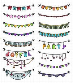 Ideas For Easy Art Doodles Hand Lettering Bullet Journal Writing, Bullet Journal Ideas Pages, Bullet Journal Inspiration, Kalender Design, Birthday Card Drawing, Lettering Tutorial, Handmade Birthday Cards, Easy Drawings, Doodle Art