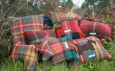 tartan cushions and cushion covers