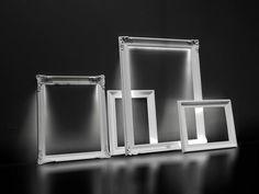 Liza επιτραπέζιο σύστημα φωτισμού αποτελούμενο απο vintage κορνίζες με κρυφό φωτισμό LED