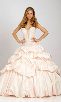 quinceanera wedding dress