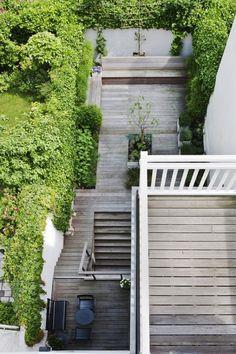 Garden Prinsengracht, A'dam, Netherlands by Kodde Architects Garden Art, Garden Design, Home And Garden, Outdoor Living, Outdoor Decor, Garden Spaces, Architecture Design, Pergola, Backyard
