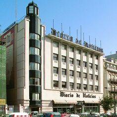 Sede do Diário de Noticias- arquitecto Porfírio Pardal Monteiro - Inaugurado em 1940 – Lisboa