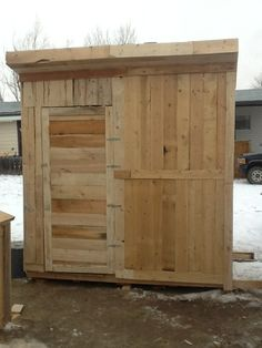 Wanted a shed for a while. Didn't want the $1500-plus price-tag. Saw some people do pallet buildings in Farm Show magazine and a few on the...