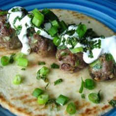 These aren't your typical Gyros. Easy to assemble lamb meatballs are so good, you could eat them by themselves.