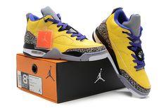 Nike Air Jordan 3 III Cement Mens Shoes Yellow [NS-5858] - $52.50 : Cheap Sneaker Store ,Cheap Sneaker Website,Nike Air Max Shoes,Cheap Air Jordan Online