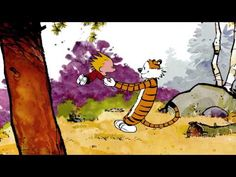 Calvin and Hobbes dance version of Animation