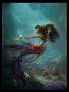 Mermaid by ThomasBrissot.deviantart