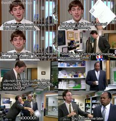 One of my favorite Jim and Dwight moments