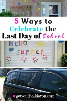 Are you planning a special last day of school memory for your child? Do you want to help celebrate their last day of school and don't know where to start? Check out the creative ways that inspireandmake has came up with to help you make your child's last day of school extra fun.