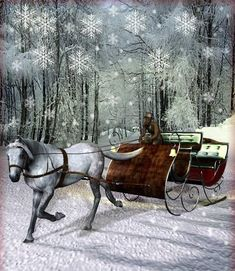 animated Christmas Sleigh rides | winter | Free PSD Designs & Vectors - Part 3