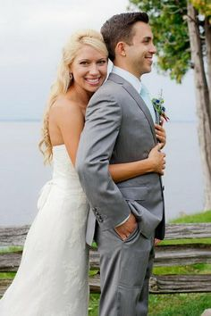 Stunning couple eh! See more here: Colorful Rustic Vermont Outdoor Wedding | Confetti Daydreams ♥  ♥  ♥ LIKE US ON FB: www.facebook.com/confettidaydreams  ♥  ♥  ♥ #Wedding #RusticWedding #RealBride