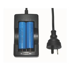 18650 3.7v Li-ion Rechargeable Battery AU Plug Travel Charger