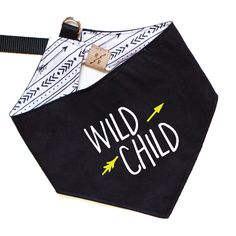 WILD CHILD Dog Bandana