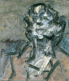 David Bowie on His Favorite Artists - The New York Times (painting by Frank Auerbach)