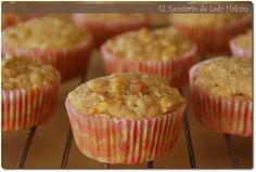 * Muffins de manzana y avena