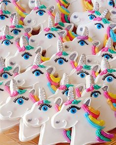 AD: Unicorn Cookies! Made from scratch decorated unicorn cookies are great for unicorn themed birthday parties and events.