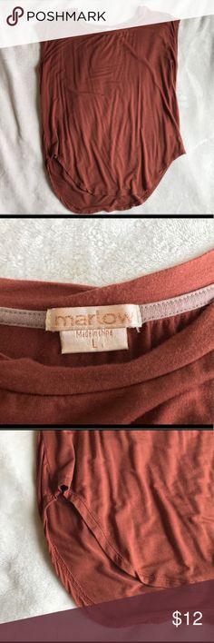 Burnt Orange Tank Super cute & soft! Marlow Tops Tank Tops