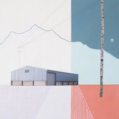 inspired! Enjoythe wonderful mixed media artworksrealised by the UK artistMairi Timoney. I love how she combines a pure minimal style, surreal landscapes and some delicate pastel colours shades.…