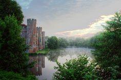Herstmonceux Castle, Herstmonceux,  Hailsham, East Sussex