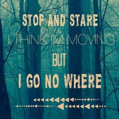 OneRepublic (Stop and Stare)