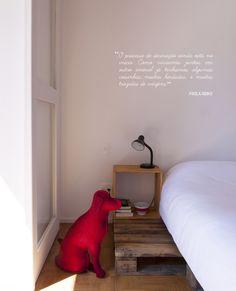Open house - Paola Abiko. Veja: http://www.casadevalentina.com.br/blog/detalhes/open-house--paola-abiko-3012 #decor #decoracao #interior #design #casa #home #house #idea #ideia #detalhes #details #openhouse #style #estilo #casadevalentina #bedroom #quarto
