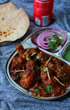 Chatpata Chicken Changezi - Spicy World Simple and Easy Recipes by Arpita Lunch Recipes Indian, Indian Chicken Recipes, Spicy Chicken Recipes, Veg Recipes, Easy Healthy Recipes, Recipies, Cooking Recipes, Paneer Curry Recipes, Biryani Recipe