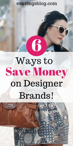Save money on designer clothes, designer purses, and designer shoes by following these tips. Cheap Designer Clothes | Cheap Designer Purses | Discount Designer Clothes and Shoes