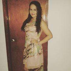 #Outfit #Look vestido Asimétrico