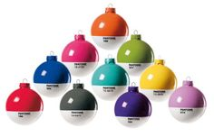 A Colourful Christmas – Pantone Baubles | Bookmarc