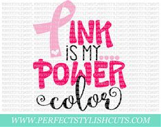 Breast Cancer Crafts, Breast Cancer Shirts, Breast Cancer Support, Breast Cancer Survivor, Breast Cancer Awareness, Cancer Quotes, Pink Out, Power Colors, Frases