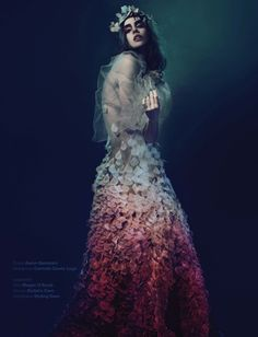 Fleur de la Nuit by An Le for Re Magazine