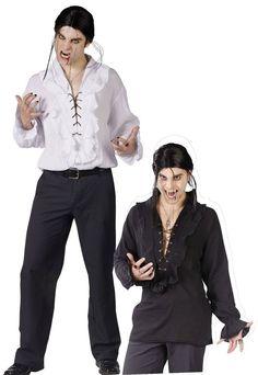 Vampire White or Black shirt