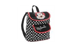 """Disney Minnie Mouse Dot Mini Backpack. Your girl will totally fall in love with the cute polka dot print. Features: Adjustable straps for personalized fit, Polka dot print all over, Front pocket, Top handle included, Wipe clean with damp cloth, Size: 12"""". - To order: http://www.shopaholic.com.ph/#!/Disney-Minnie-Mouse-Dot-Mini-Backpack/p/50458180/category=6708179"""