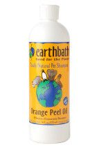 Earthbath Shampoo is all natural and has good smells.