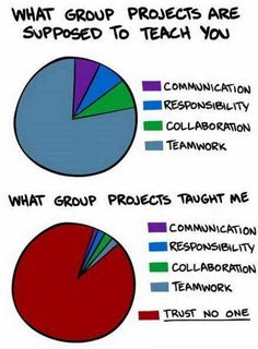 i have found that the majority of accounting students and professionals cannot stand doing group work.