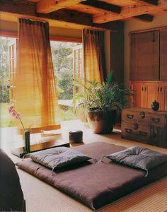 Cómo crear una habitación de meditación en casa. | Mil Ideas de Decoración