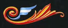 Alfredo Genovese y su Porteño Filetear Argentine, The Greatest Showman, Typography, Lettering, Arte Popular, Calligraphy Letters, Back Tattoo, Superhero Logos, Nail Art