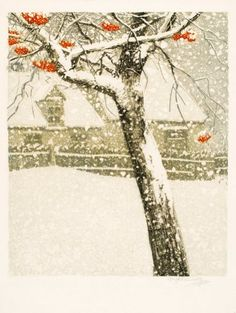 Coloured etching by Vojtěch Preissig, 1906. www.esbirky.cz, CC0