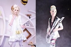 "YOHIO -""SKY☆LIMIT"" a 17-year-old boy from Sweden who is now the lead guitarist and songwriter of the visual kei band Seremedy."