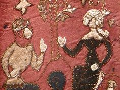 wall hanging -- Tirstan and Isolde
