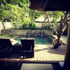 Kayumanis Nusa Dua one bedroom private pool villa  Picture courtesy of Instagram user @singdevd