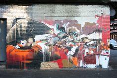 Conor Harrington, dipingere fra arte classica, street art e hip-hop Street Art Utopia, 1st Avenue, Installation Art, Art Installations, Old Master, Frank Frazetta, Street Artists, Banksy, Public Art
