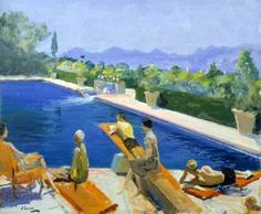 The Blue Pool, by John Lavery
