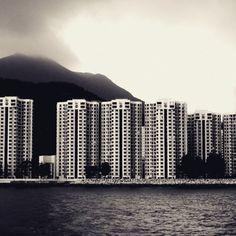 Storm arriving in Hong Kong. Début de tempête sur Hong Kong. Chine. China. #hongkong #aberdeen #china