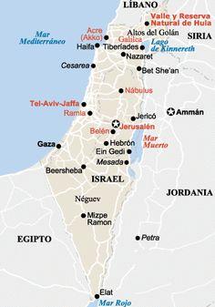 Viaje a Israel y Palestina por libre
